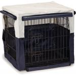 Hoes voor hondenbench benco beige/blauw 63 x 55 x x 61 cm