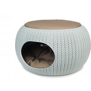 Curver Cozy Pet Home hondenmand lichtblauw 55 cm