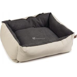 Hondenmand Rupa beige/grijs 55 x 50 x 20 cm