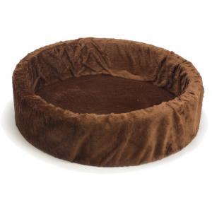 Teddy hondenmand bruin 80 cm