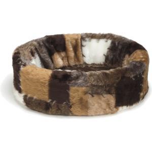 Teddy hondenmand Patch bruin 40 cm