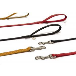 Hondenriem Mac Leather 120cm x 25mm bruin