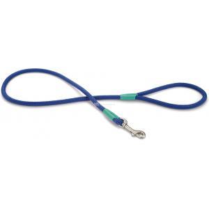 Hondenriem Nikra 100cm x 10mm blauw
