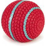 Latex hondenspeeltje speelbal Biky roze 9 cm