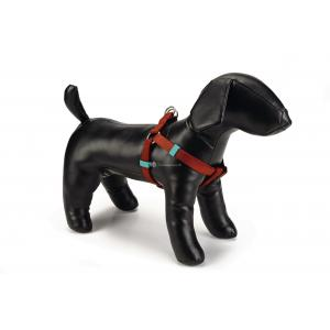 Hondentuig nylon 26-40cm lichtbruin
