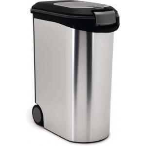 Curver hondenvoer container metallic 54 liter