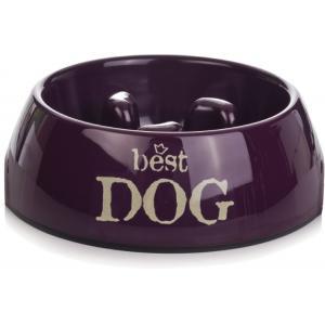 Dieet hondenvoerbak Best Dog paars 22 cm