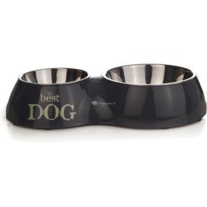 Dinner hondenvoerbak Best Dog M grijs