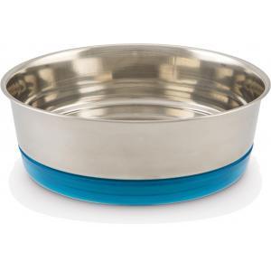Hondenvoerbak Libras blauw 17 cm