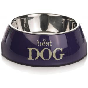 Hondenvoerbak rond Best Dog blauw 22 cm