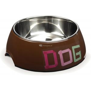 Hondenvoerbak Tape Dog bruin 22 cm