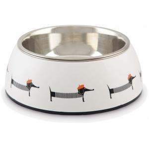 Hondenvoerbak Woby wit 18 cm