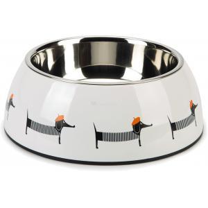 Hondenvoerbak Woby wit 22 cm