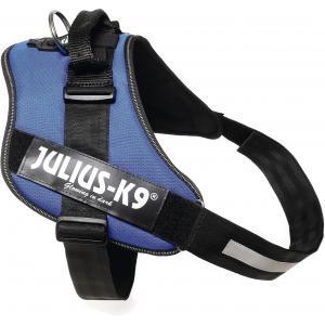 Julius-K9 IDC-Powertuig 82-115cm blauw
