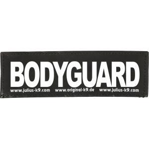 Julius-K9 tekstlabel Bodyguard 11 x 3 cm