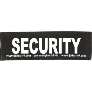 Julius-K9 tekstlabel Security 11 x 3 cm