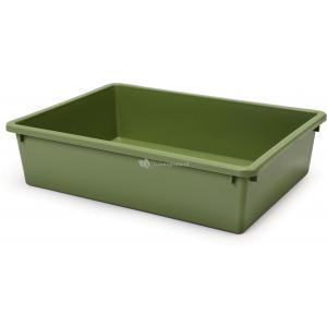 Tray 1 kattenbak groen