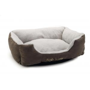 Cosy kattenmand taupe / grijs