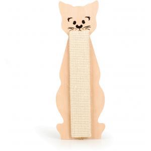 Poesmodel katten krabplank met catnip