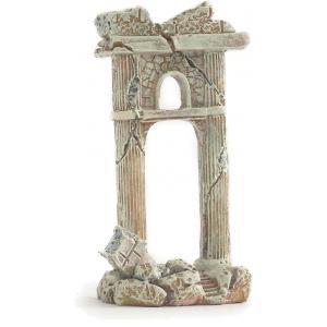Romeinse zuil aquarium decoratie 11 cm