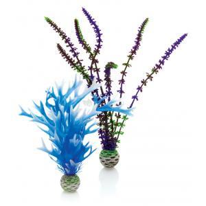 BiOrb planten medium blauw & paars aquarium decoratie