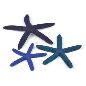 BiOrb zeester set 3 blauw aquarium decoratie