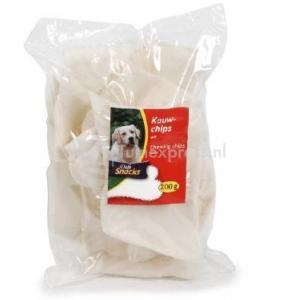DeliSnacks kauwchips wit hondensnack