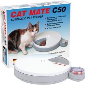 Cat Mate 5 porties voederautomaat
